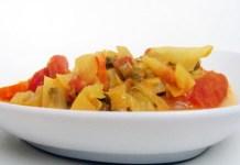 Receita de Caril de Legumes e Cogumelos