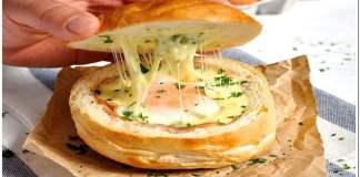 Pão com Ovo Turbinado