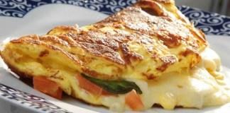 Receita de Omelete Especial