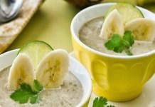 Receita de Sopa de Banana Exótica