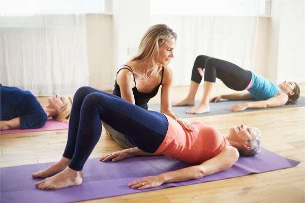 разминочные упражнения пилатес