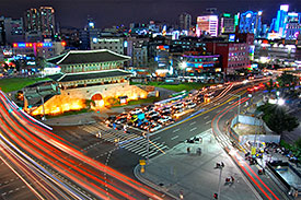 Dongdaemun Gate, Seoul, Photo P. DeMarco