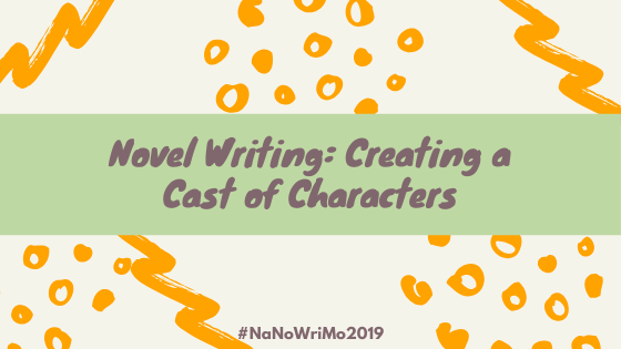 Creating a cast of characters for your novel? Free tips on characterization from our staff in honor of NaNoWriMo (National Novel Writing Month)!