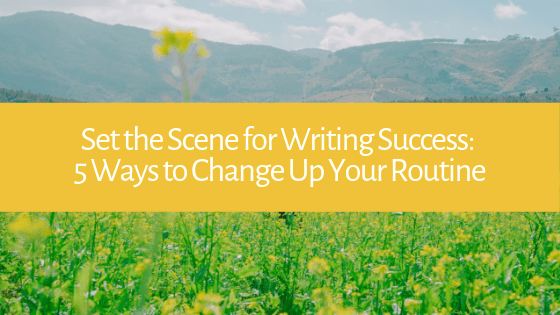 Having trouble sticking to your writing schedule? Feeling uninspired? Here are 5 new ideas for your writing process steps!