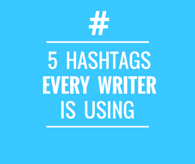 twitter hashtag for writers