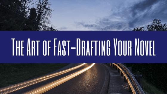 Working on your manuscript? Here is a post discussing The Art of Fast-Drafting Your Novel.