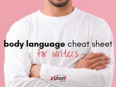 Body Language Cheat Sheet for Writers