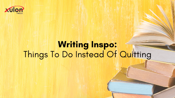 Need some writing inspo? Thinking about quitting writing recently? Here are other things you can do instead: 1. Write sideways instead of forward: work o...