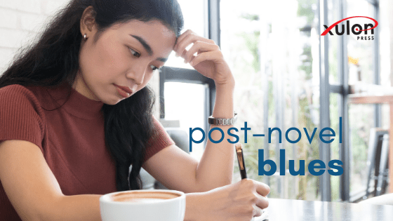 """Some writers feel what they call the """"writing blues"""" after pouring their heart and soul into a writing project. Having..."""