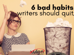 6 Bad Habits to Give Up This Month as a Writer