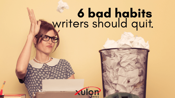There are some negative habits a writer can easily develop. Take these last few weeks to refocus on these 6 habits you can remove from your writing life...