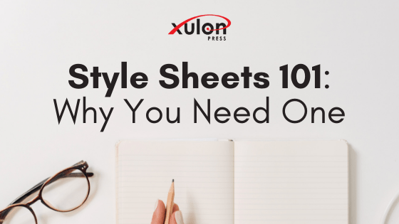 There are several ways to keep yourself and your writing organized. One great way is by creating and maintaining a style sheet ...