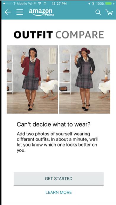 conveniencia Amazon outfit compare