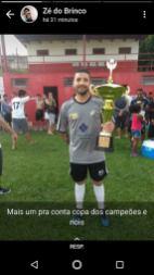 Zé do Brinco mais uma vez campeão