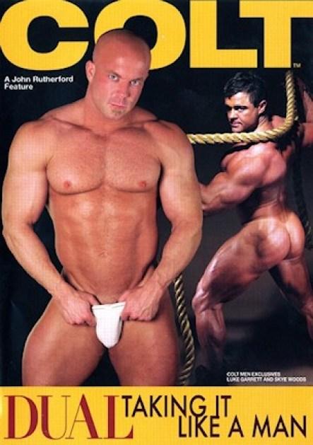COLT Dual Taking It Like A Man Porn DVD Image