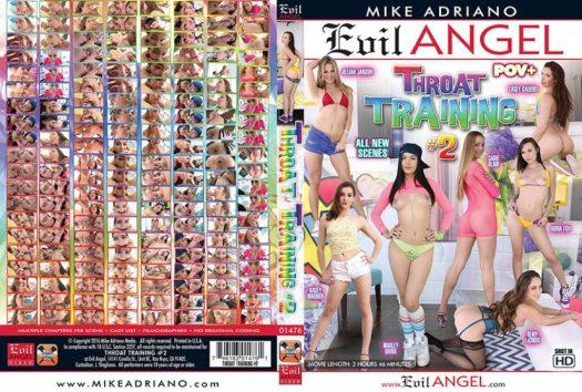 Throat Training 2 Porn DVD Image
