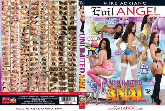 Unlimited Anal Porn DVD Image