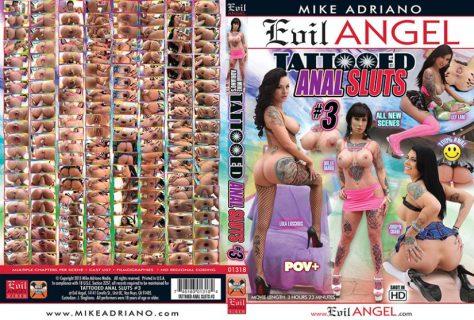 Tattooed Anal Sluts #3 Porn DVD Image