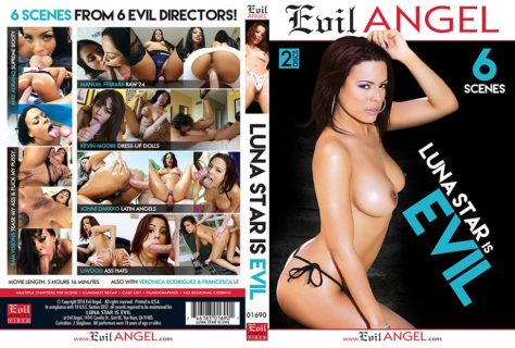 Luna Star is Evil Porn DVD Image