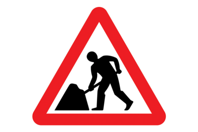 Pre-printing reflective traffic sign