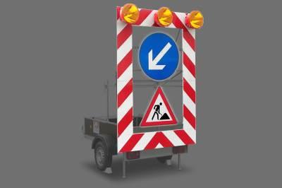 Reflective Safety beacon