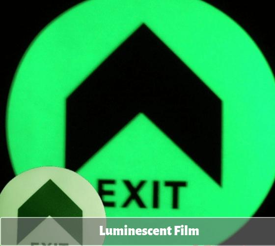 photoluminescent film digital printing | XW Reflective