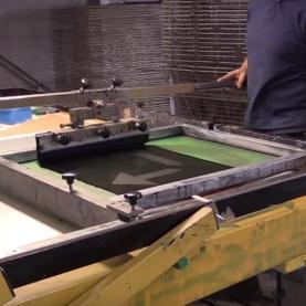 screen printing reflective sheeting