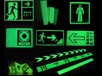 Luminous stickers