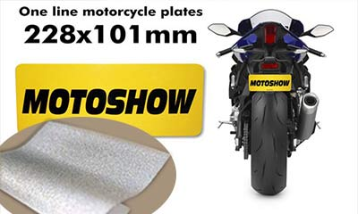 XW6600 Reflective License Plate Film for Motor Plate