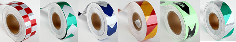 colored reflective tape vinyl for traffic cones
