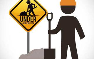 high intensity reflective sheeting for construction signs
