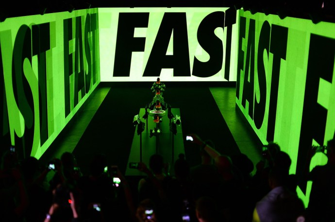 during a Nike Zoom Event on June 16, 2015 in London, England. (Photo by Jon Buckle/Getty Images for Nike)