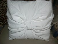 Pillow that I made.
