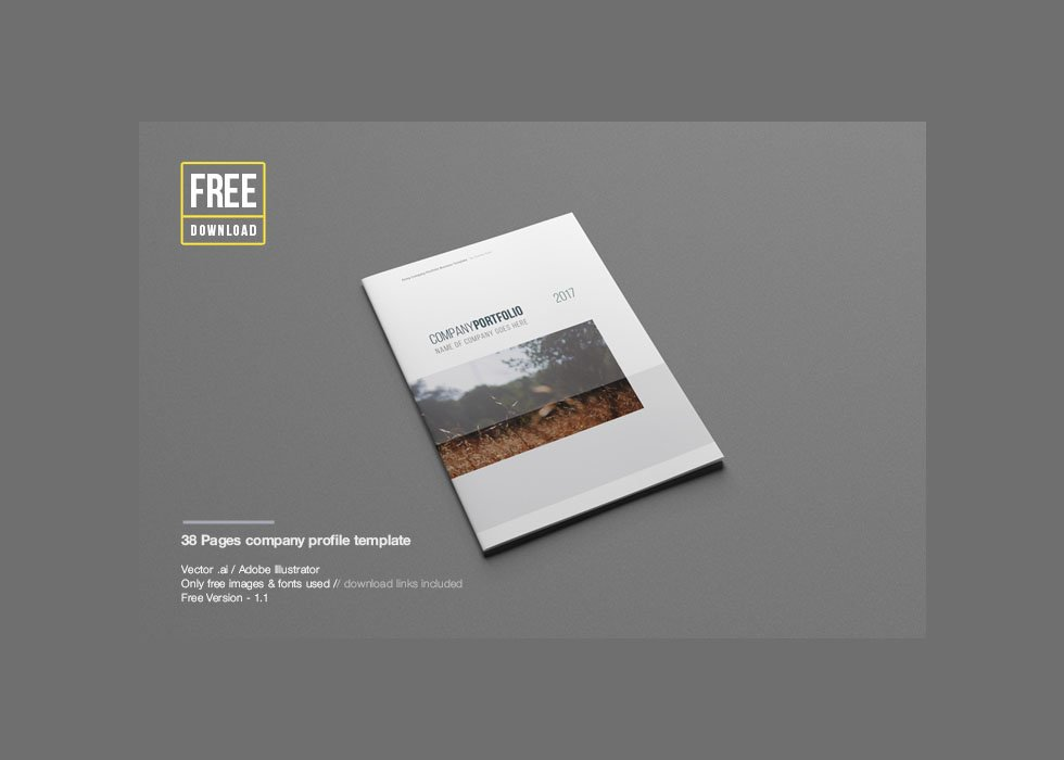 Free Company Profile Templates company profile template word free – Free Company Profile Template Word