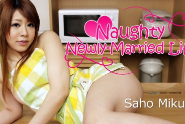 Saho Mikura Naughty Newly-Married Life