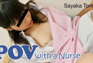 Sayaka Tomita POV with a Nurse