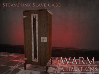 Warm - Steampunk Slave Cage