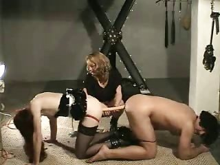 older younger mistress sissy bound