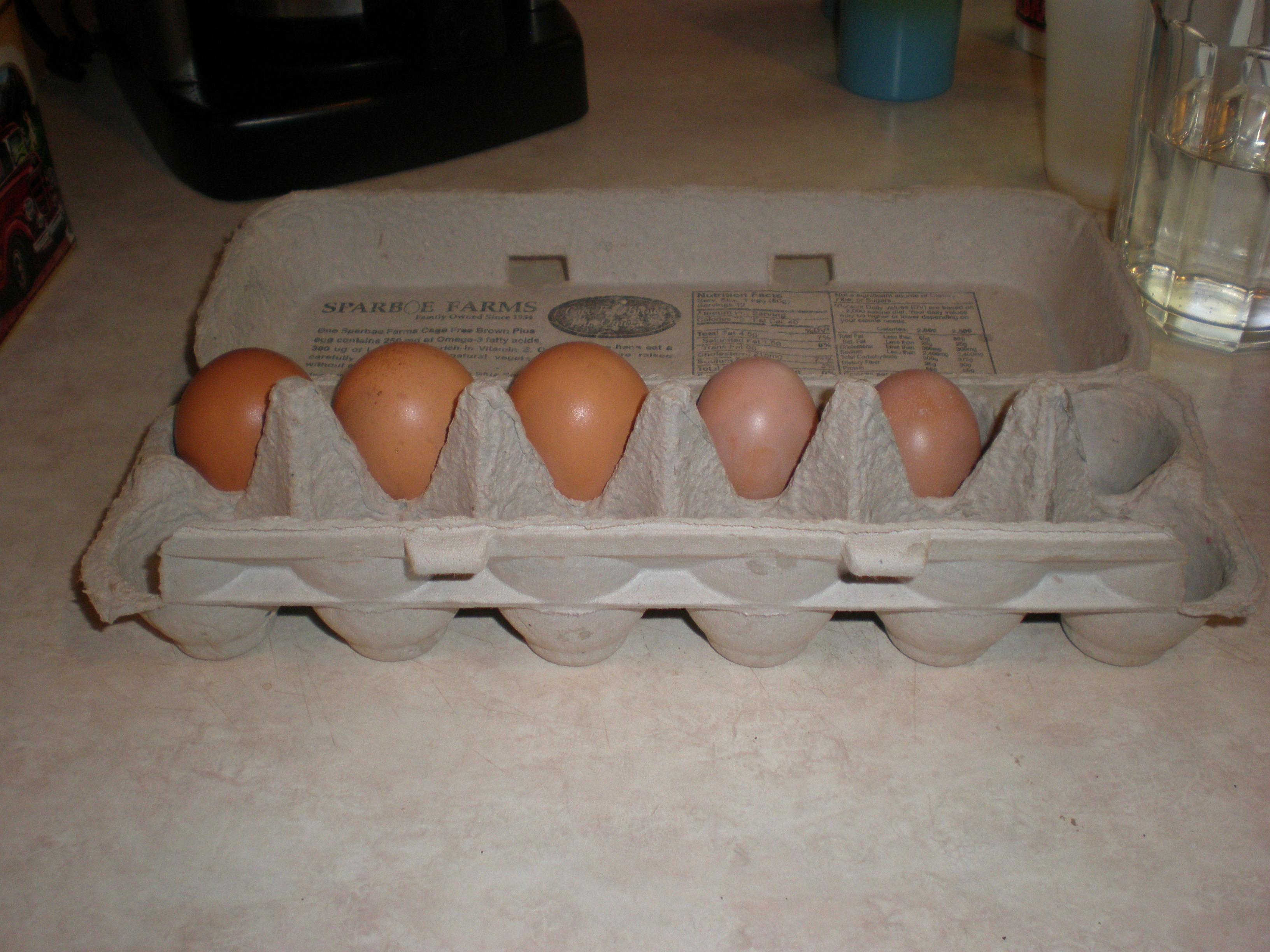 eggs in carton 2