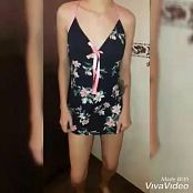 Mellany Mazo Custom Striptease Video 150119 mp4