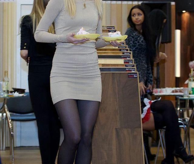 Brown Dress Stockings Legs Nylon Stockings Sheer Tights Candid Nylons Public Maroon Dress