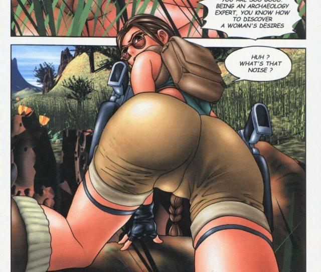 Raiders Of The Last Ass Tomb Raider Free Cartoon Porn Comic