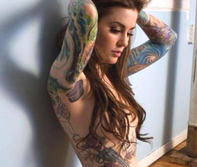 Sexy Girls With Tattoos Ink On Girls Dedicated To Hot Tattooed Girls Photos Of I