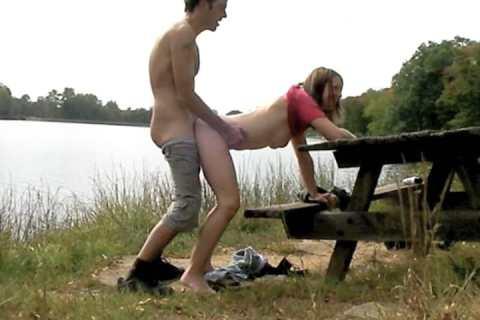 Seen having sex on picnic table at Keystone lake