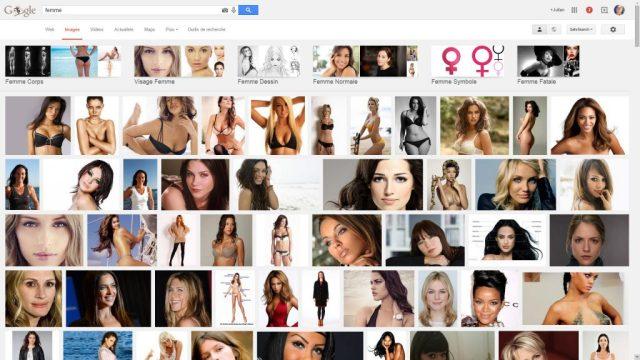 Recherche Femme Google