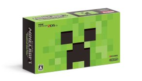 Упаковка издания New Nintendo 2DS LL Minecraft Creeper Edition