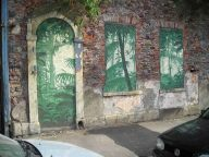 St Paul's jungle mural 2004