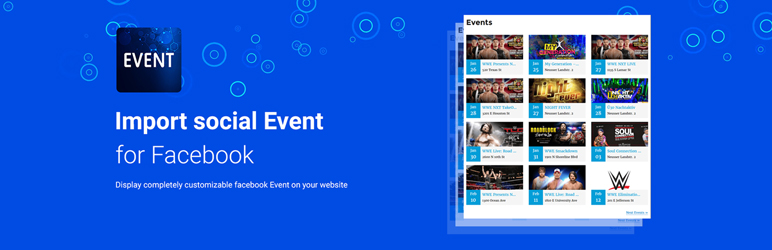 Import Social Events ( Facebook ) - Xylus Themes