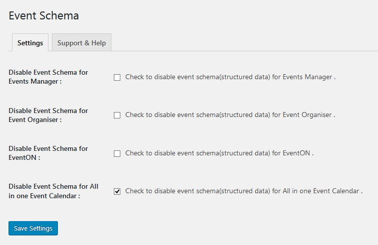 Google Rich Snippet Schema for Event