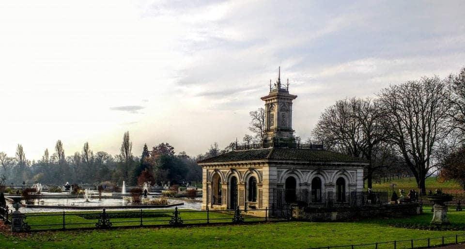 Gorgeous Italian gardens featured in the Kensington Gardens walk